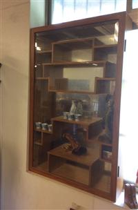 壁掛式實木精品架╱實木展示櫃