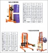 電動油桶搬運機、半電動油桶搬運機