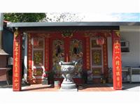 26-寺廟建築-門神、柱子、香爐