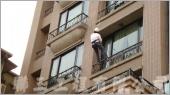 外牆吊掛施作防水工程