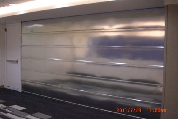 f60a鍍鋅阻熱摺疊防火捲門