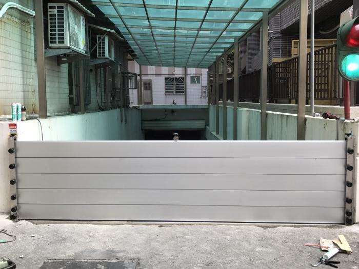 鋁合金組合式防水閘門