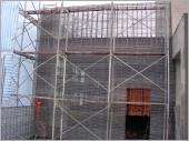鋼網牆工程中