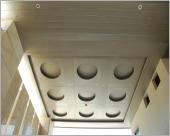 圓造型車道天花板