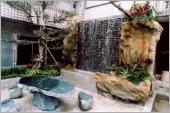 GRC庭園水池綠化原石造景