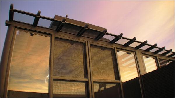 日式鋁鋼構LOW-E膠合強化玻璃