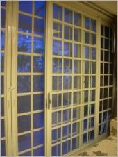 中空複層隔音玻璃格子落地窗