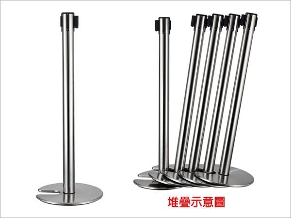 伸縮欄柱(安全縮頭開口盤)/E85SC