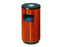 仿木烤漆垃圾桶/C57