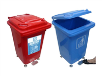 腳踏式資源回收桶/M60