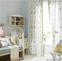 臥室紗簾設計