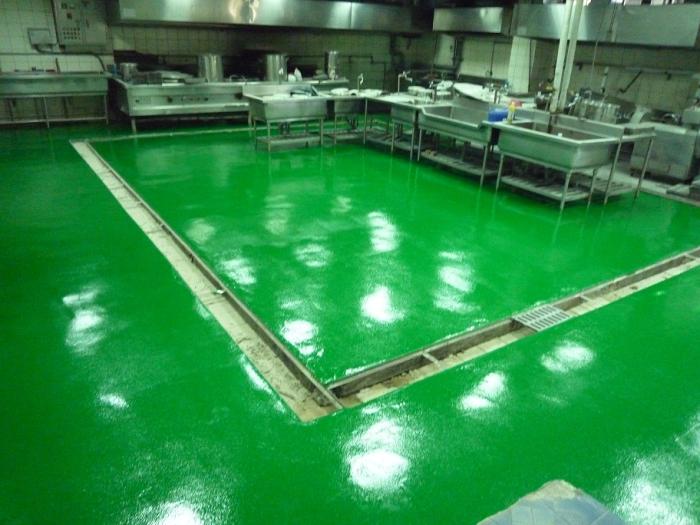 中央廚房EPOXY地坪