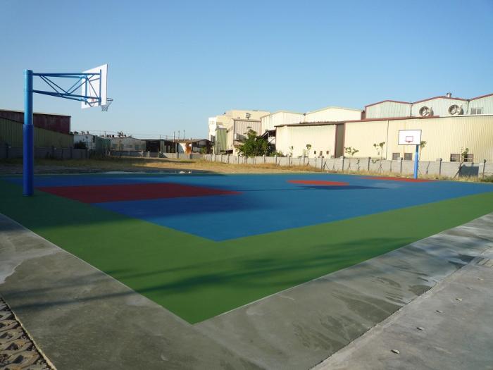 球場分色地坪
