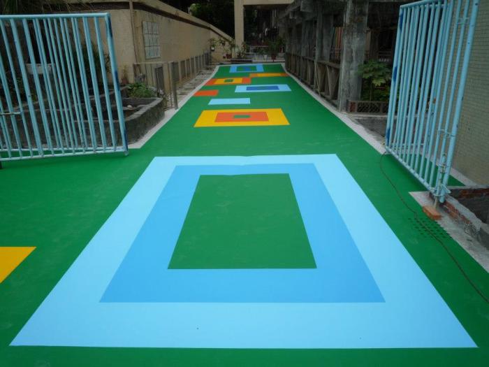 壓克力彩繪地坪
