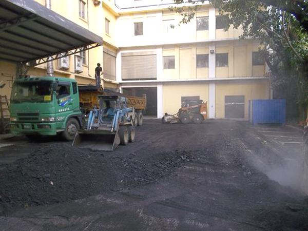 工廠路面瀝青修補工程