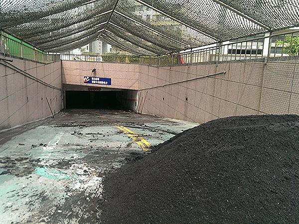 地下道路面柏油瀝青舖設工程
