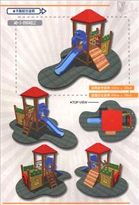 木製遊具、木製遊樂設施