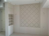 室內設計_臥房牆面