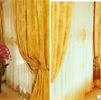 歐式風窗簾、歐式風窗紗