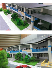 住宅模型、商業模型