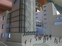 公共建築模型