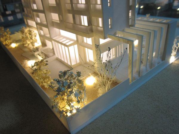 別墅住宅模型