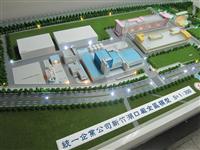 工業廠房模型