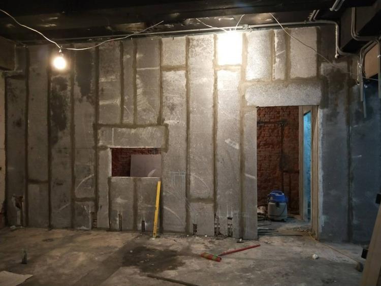 輕質陶粒預鑄水泥板夾層工程_崁入式