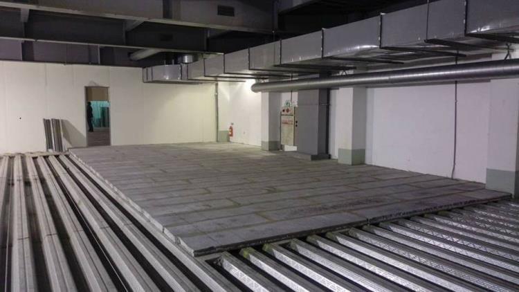 預鑄陶粒水泥板夾層工程