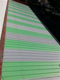 美泥UV耐酸鹼採光塑膠角浪板
