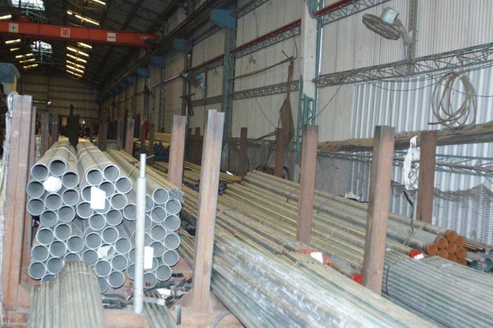 溫室鋼管材料區