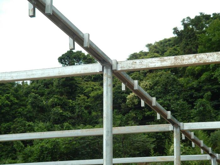 連棟式溫室鋼架工程