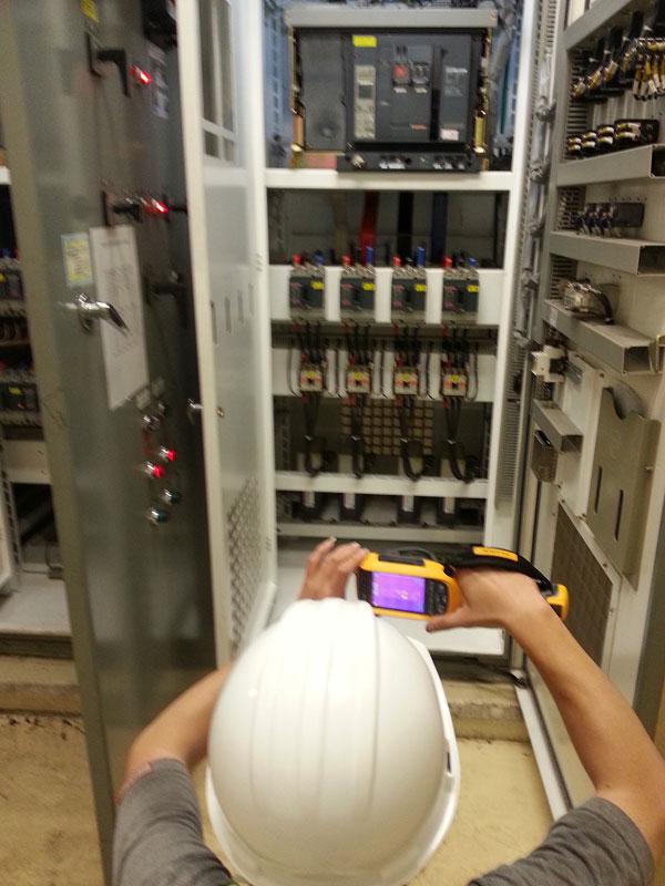 污水控制盤檢修調整作業