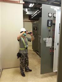 動力配電盤紅外線熱顯像儀檢測