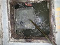 污水攔污網清除雜物施工