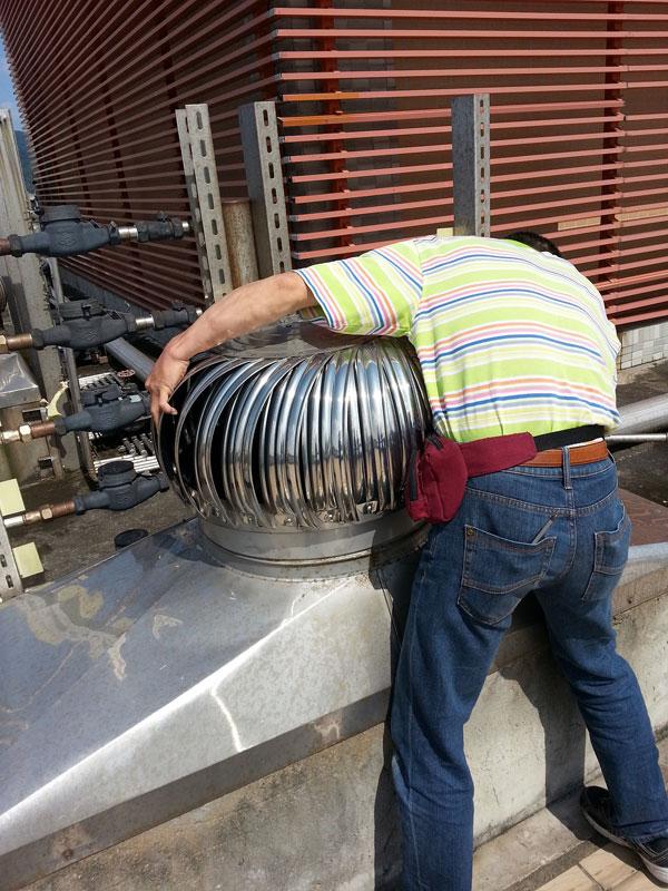 免電風力排風球、渦輪自然通風器、免電力渦輪排風機