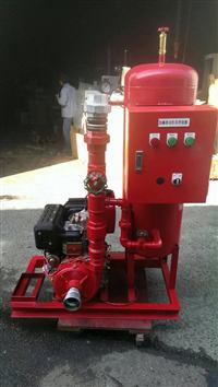 消防柴油機組安裝