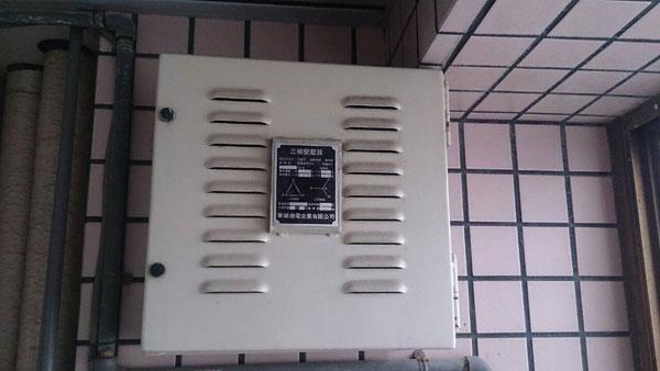 乾式變壓器安裝