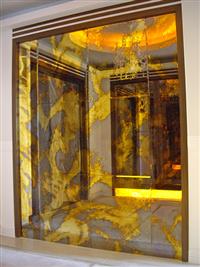 仿古鏡玻璃