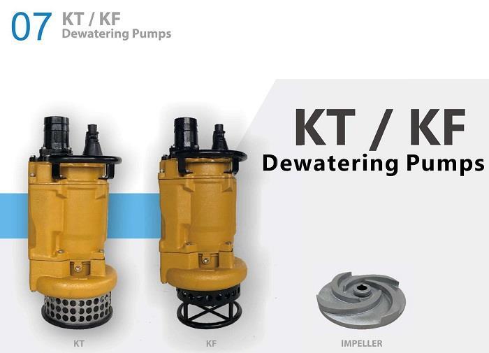 KT系列高揚程工事用泥砂泵浦