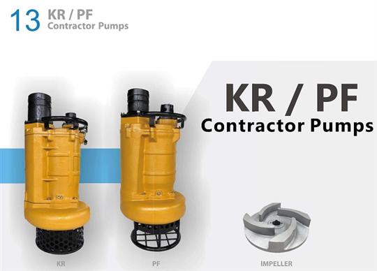 KR系列工事用泥砂泵浦