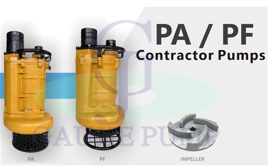 PA系列 工事用泥砂泵浦