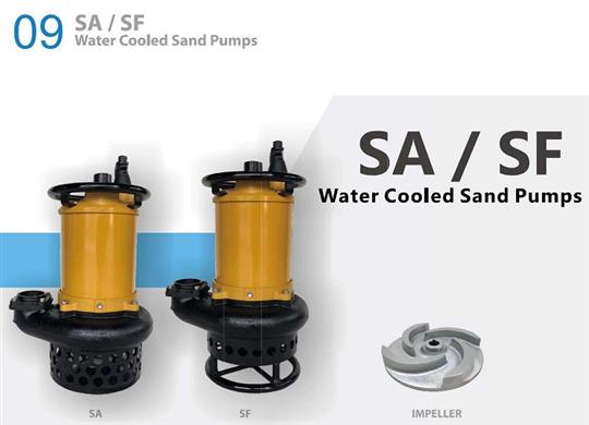 SF系列輕載泥砂泵浦