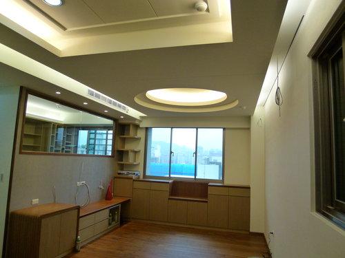 客厅造型天花板