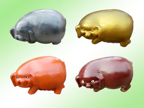 5.仿十二生肖-豬水泥製品