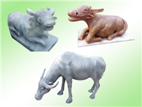 4.仿十二生肖-牛水泥製品