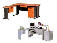 台北辦公桌、整組式辦公桌(一般款、木紋款)