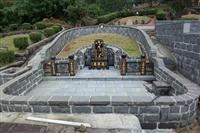 土葬墓設計、土葬施工