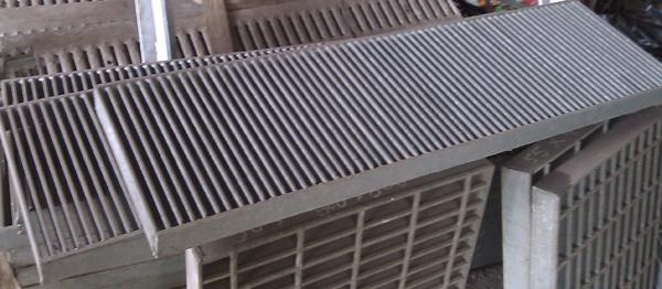 細目型格柵板