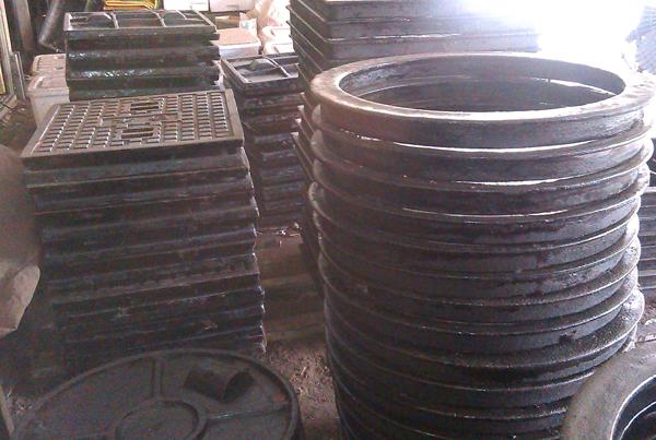 鑄鐵蓋、鑄鐵人孔、鑄鐵水溝蓋